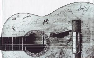 Gitarre Willie Nelson