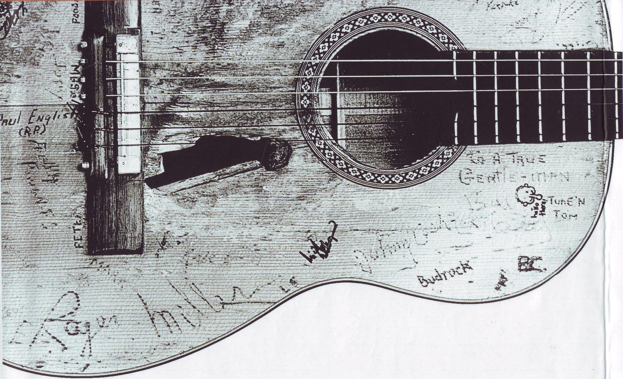 Was man Gitarren antun kann   Im neuen Blog begrüßt Sie Jan Reichow …