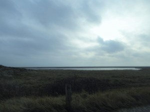 Langeoog Seeblick & Wolken Dez 2015