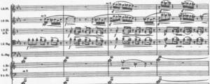 Mahler Klage-Sekunden + Terzen