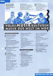 Musikkulturen 1996