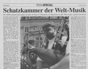 Musikkulturen Schätze 1994