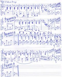 Schumann Scherzo Trio