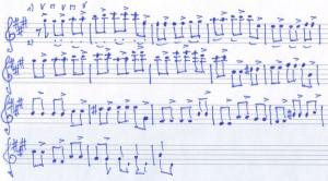Schumann off beat übung
