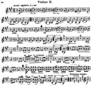 Schumann op 40 3 zweiter
