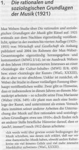 Weber WBG Musik