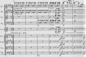 Beethoven VII Auftakt