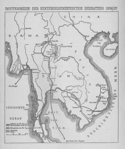 Bernatzik Karte Hinterindien