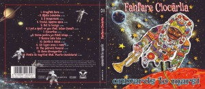 Ciocarlia CD Mars Titelseite