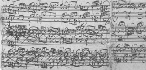 Bach C-dur Prael Faksim Det