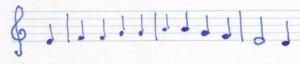 Choral Unterteile c'