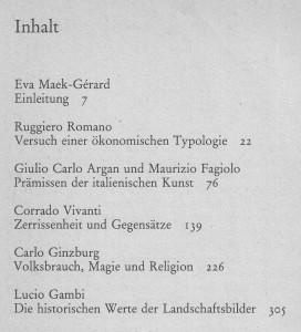 Italien Storia Aufsätze