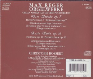 Reger jung Orgel Cover b