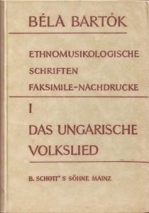 Bartok Ungarisches Volkslied