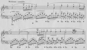 Chopin Impromptu cis-moll Mittelteil