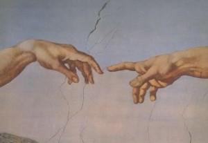 Michelangelo Hände