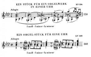 Mozart Orgelwalze