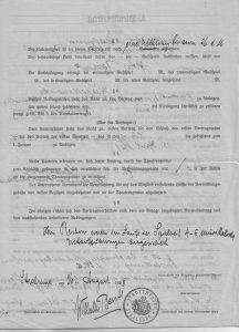 Artur Stralsund Vertrag b 1929