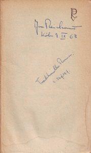 Gegenwart 1963 JR