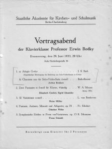 Bodky 1933