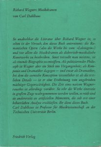 Dahlhaus Wagner