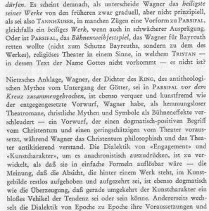 Dahlhaus Wagner Dialektik