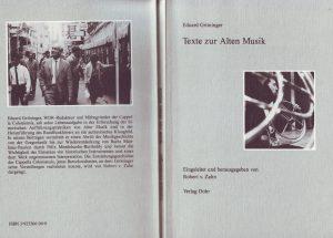 Gröninger Schriften