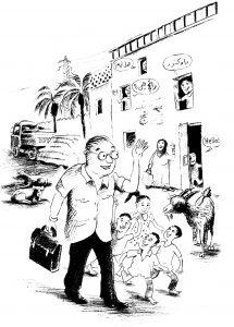 Hans im Dorf Bild