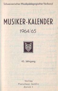 Kalender 1965 kl