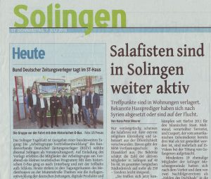 Salafisten in Solingen