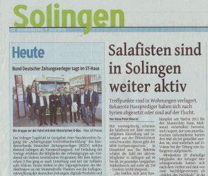 Salafisten in Solingen