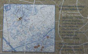Wechmar Bach-Haus Landkarte