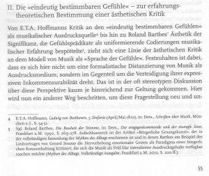 Barthes zitiert bei Zehentreiter