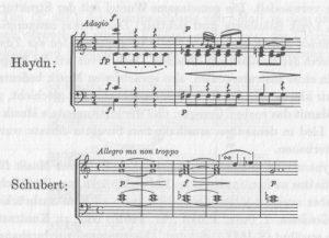 Georgiades Schubert Haydn Vergleich