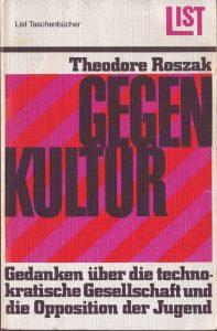 Roszak Gegenkultur Cover