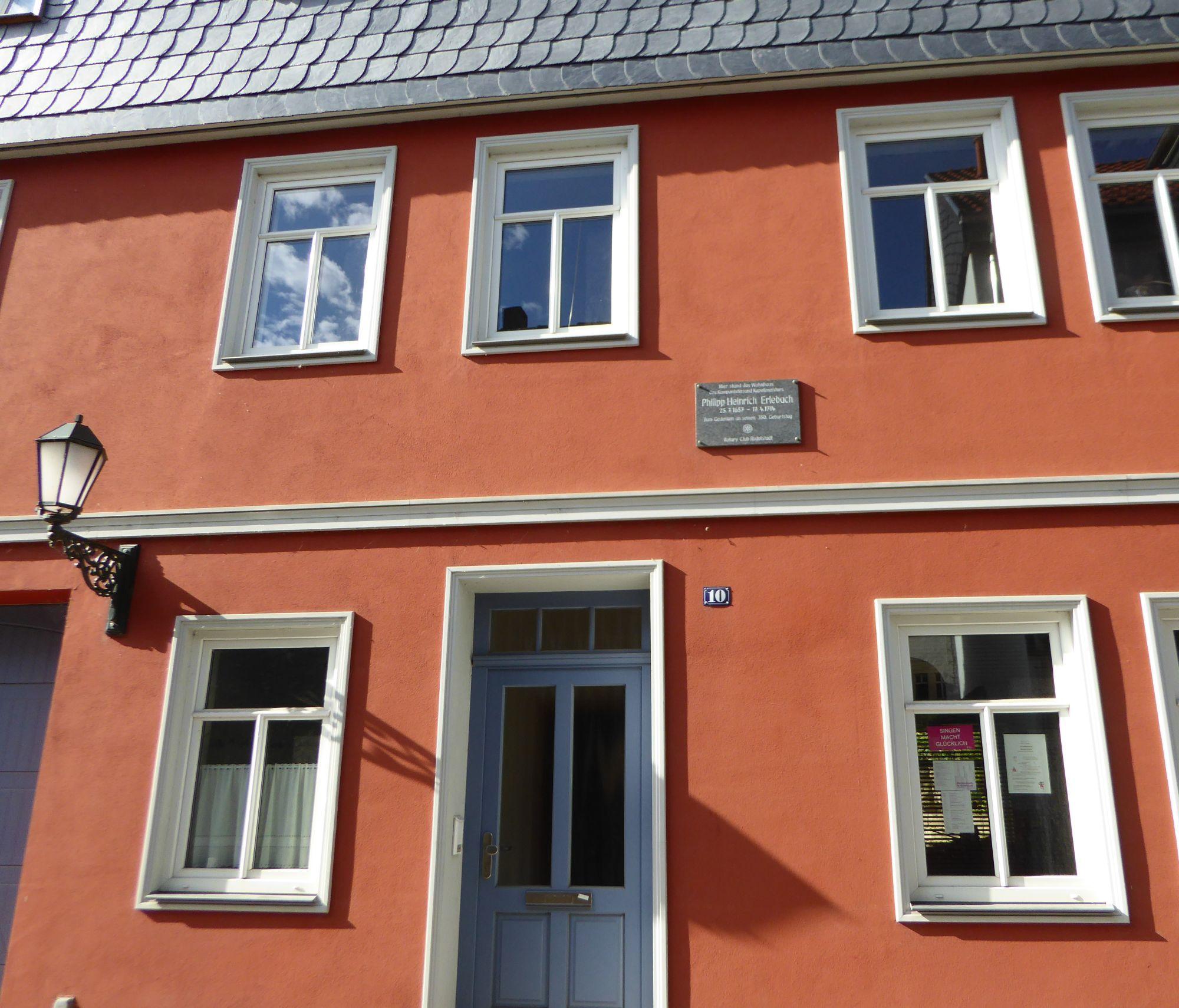 Exceptional Erlebach In Rudolstadt Haus ...