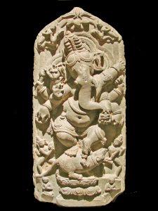 Ganesh (Ganesha) dansant Nord du Bengale, 11ème siècle après J.C. Musée d'art indien de Berlin (Dahlem)