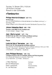 tambourin-programm-ablauf