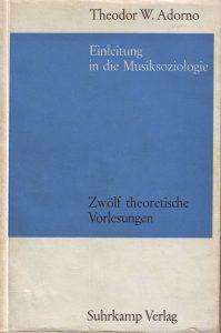Adorno Musiksoziologie
