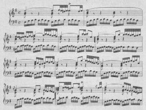 Bach Praeludium e