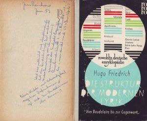 Friedrich Moderne Lyrik