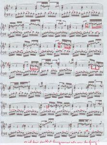 Glenn Gould Phrasierung e-moll