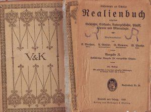 Realienbuch 40er Jahre