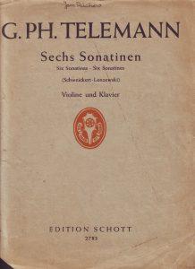 Telemann Sonatinen