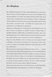 Wohnen Text c 1935