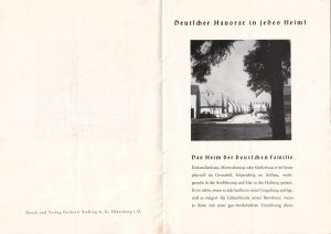 Wohnmöbel nach 1933 2