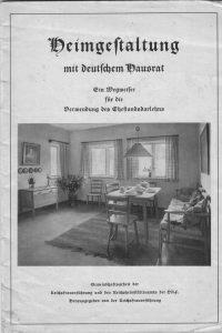 Wohnstube 1935