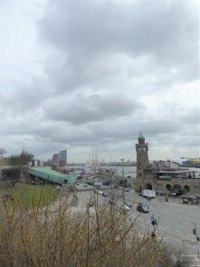Hamburg Hafen Ausblick von Hotelhöhe 3