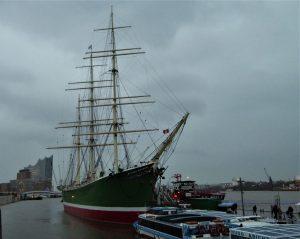 Hamburg Hafen März Elphi 21