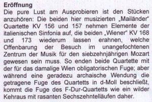 Mozart MDG Werbung Ausschnitt